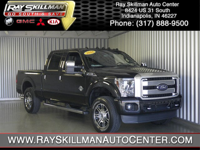 Used Ford F-250 LARIAT PLATINUM CREW