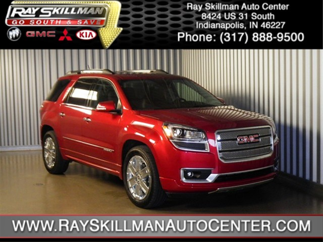 Certified Used GMC Acadia Denali