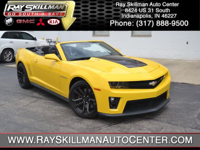 Certified Used Chevrolet Camaro ZL1