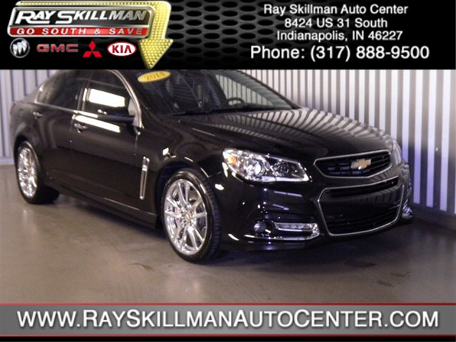 Certified Used Chevrolet SS 4DR SDN